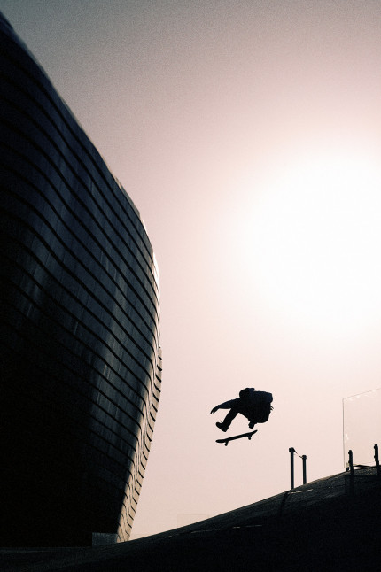 Antony Lopez Kickflip China