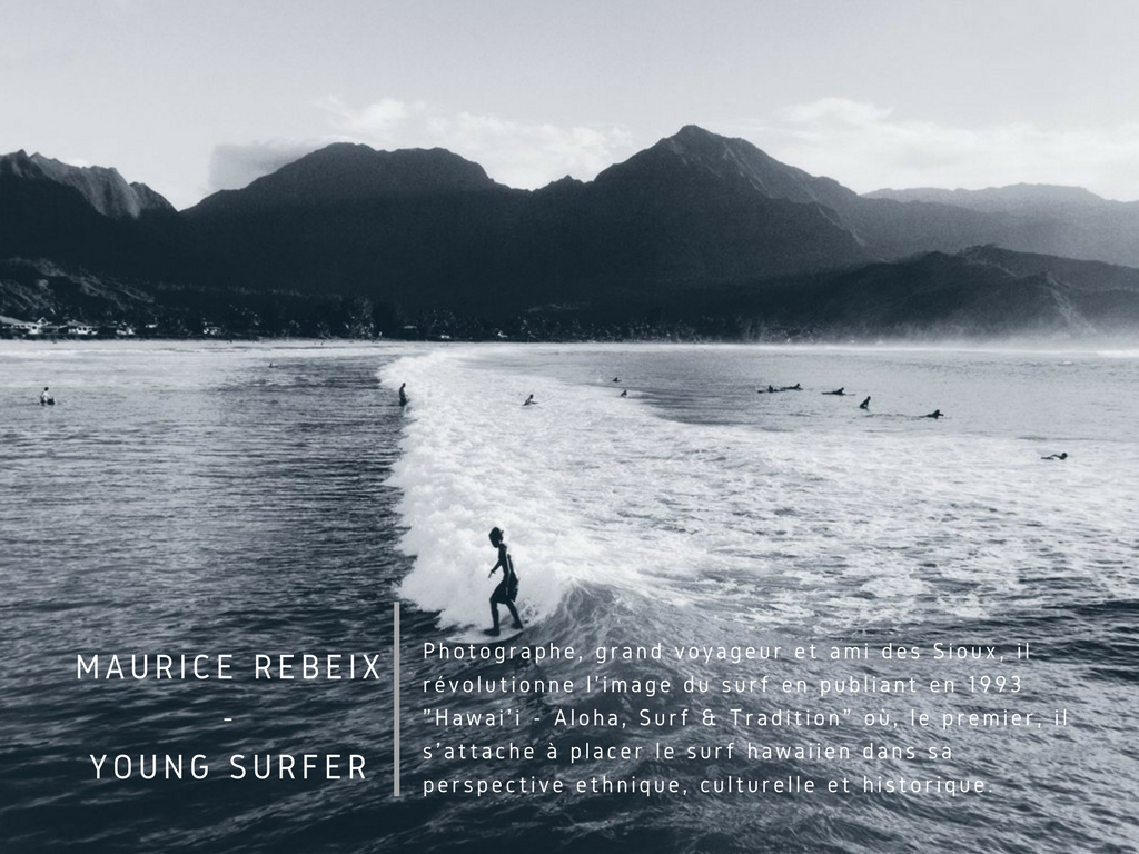 Maurice Rebeix - Young Surfer